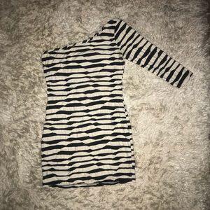 Forever 21 Zebra Print Dress